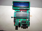 8051 Kit, front of board